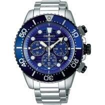 Seiko Prospex SSC675P1 Seiko Prospex Sea Subacqueo Acciaio Blu 43,5mm 2020 nov