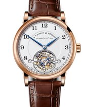 A. Lange & Söhne 1815 Rose gold 39.5mm Silver Arabic numerals United States of America, New York, NEW YORK