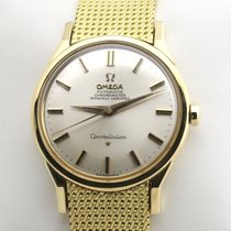 Omega Yellow gold Automatic 35mm pre-owned Constellation