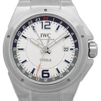 IWC IW 324404 Steel Ingenieur Dual Time 43mm pre-owned