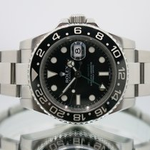 Rolex 116710LN Steel 2014 GMT-Master II 40mm pre-owned United Kingdom, Essex