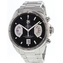 TAG Heuer Grand Carrera Staal 44mm