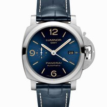 Panerai Luminor 1950 3 Days GMT Automatic Steel 44mm Blue