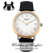 Montblanc Tradition Goud/Staal 32mm Parelmoer