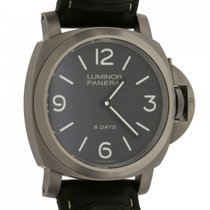 Panerai Luminor Base 8 Days Titanium 44mm Brown