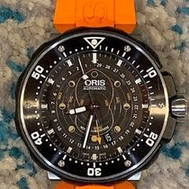 Oris ProDiver Pointer Moon Titanium 49mm United States of America, New York, WOODSIDE