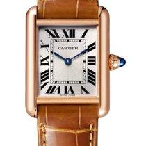 Cartier Tank Louis Cartier Oro rosa Argento