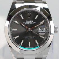 Rolex Datejust Staal 41mm Grijs Geen cijfers Nederland, Maastricht