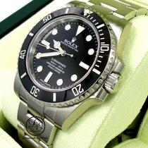 Rolex Submariner (No Date) nouveau Remontage automatique Montre avec coffret d'origine et papiers d'origine 114060