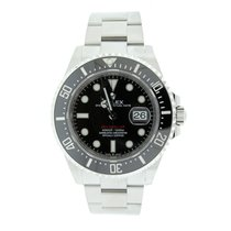 Rolex Sea-Dweller Steel 43mm Black No numerals United States of America, New York, New York