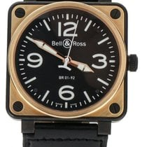 Bell & Ross BR 01 BR01-S/R pre-owned