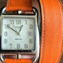 Hermès Cape Cod Stahl Silber Arabisch