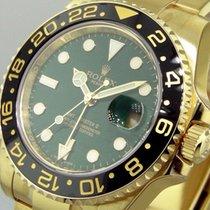Rolex GMT-Master II Жёлтое золото 40mm Зелёный