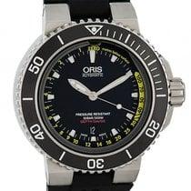 Oris Aquis Depth Gauge 733 7675 4154 new