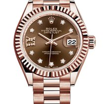 Rolex Rose gold 28mm Automatic 279175 new