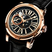 Louis Moinet Metropolis Rose gold 45,5mm Black