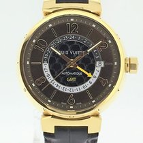 Louis Vuitton Tambour Large GMT Gold