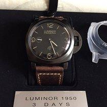 Panerai LUMINOR 1950 TITANIO DLC 3DAYS PAM00617