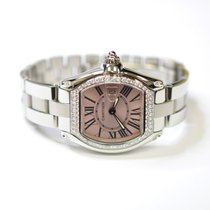 Cartier Roadster 31mm Stainless Steel Ladies Watch With Custom...