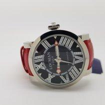 Locman Italy Toscano Diamond Ladies Red Strap Watch ref 293