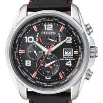 Citizen AT9030-04E CITIZEN  H820 Radiocontrollato 44mm Pelle Nero new