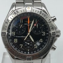 Breitling Transocean Chronograph occasion Chronographe Date Acier