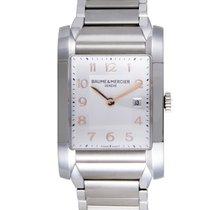 Baume & Mercier Hampton Womens Stainless Steel Quartz Watch...