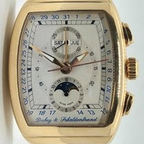 Dubey & Schaldenbrand 49mm Automatic 2000 pre-owned White