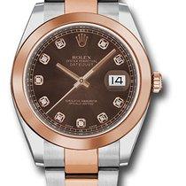Rolex Datejust Champagne Diamond Dial 126301