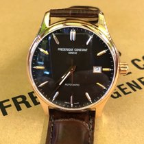 Frederique Constant Classics Index Steel 38mm Brown No numerals