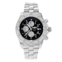Breitling Super Avenger new 2007 Automatic Chronograph Watch with original box and original papers A1337053/B973-135A