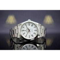 Rolex Air King Precision Steel 34mm White