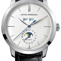 Girard Perregaux new Manual winding 40mm White gold Sapphire Glass
