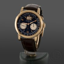 A. Lange & Söhne Rose gold 41mm Manual winding 405.031 pre-owned