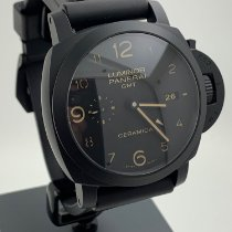 Panerai Luminor 1950 3 Days GMT Automatic gebraucht 44mm Keramik