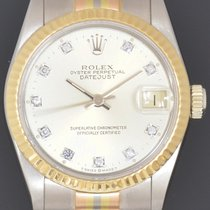 Rolex 31mm Automatic 1984 pre-owned Datejust (Submodel) Silver