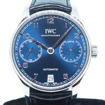 IWC Portuguese Automatic Steel 42.3mm Blue Arabic numerals Singapore, Singapore