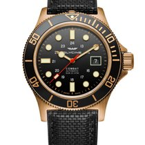 Glycine Bronze Automatic Grey 42mm new Combat SUB