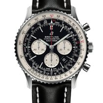 Breitling Steel Automatic Black No numerals 46mm new Navitimer 01 (46 MM)