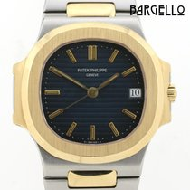 Patek Philippe 3800 Gold/Steel 1992 Nautilus 37mm pre-owned