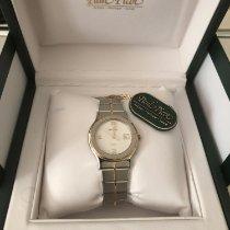 Paul Picot Reloj de dama 30mm Cuarzo nuevo Reloj con estuche y documentos originales 1999