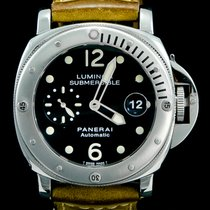 Panerai Luminor Submersible Acier 44mm Noir Arabes Belgique, Brussel