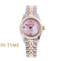 Rolex Gold/Steel 24mm Automatic Oyster Perpetual pre-owned