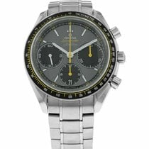 Omega Speedmaster Racing pre-owned 40mm Grey Chronograph Date Steel