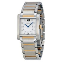Cartier new Quartz 30.4mm Steel Sapphire crystal
