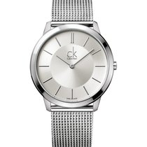 ck Calvin Klein Steel 40mm Quartz K3M21126 new