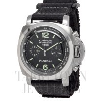 Panerai Luminor 1950 3 Days Chrono Flyback pre-owned 45mm Black Chronograph Flyback Tachymeter