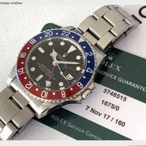 Rolex 1675 Steel 1979 GMT-Master 40mm pre-owned