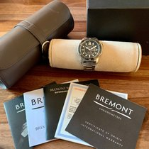 Bremont Supermarine Stål 43mm Sort