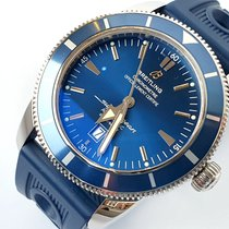 Breitling Superocean Héritage 46 Stahl 46mm Blau